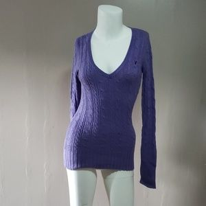 American Eagle Outfitters Purple Sweater Sz S
